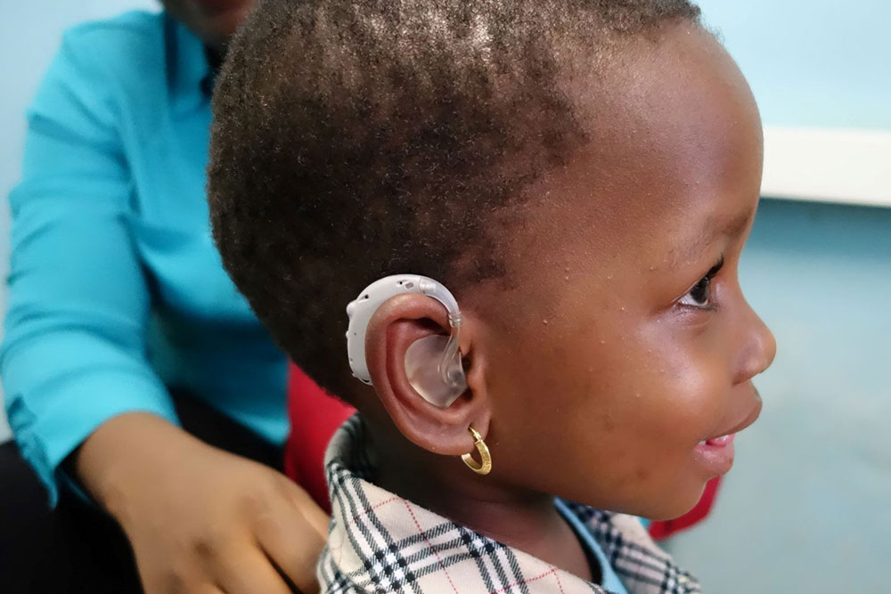 Congo Child Hearing - Medical Mission Aid